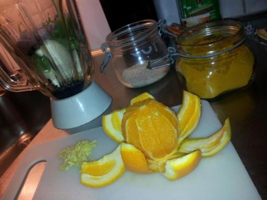 smoothie-gurkmeja