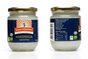 Kallpressad kokosolja kan minska symtom ex eksem, psoriasis, rynkor, virus...